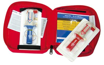KIT COMPLET INJECTION INTRA-OSSEUX - null