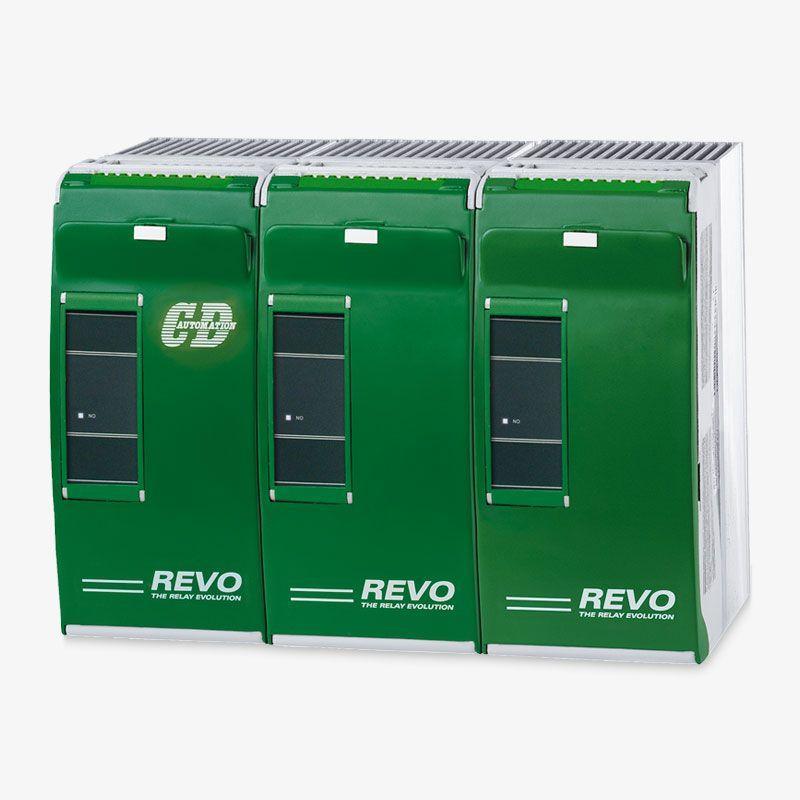 Thyristorsteller 30A..500A mit internen Sicherungen & ... - REVO-S 30A – 500A