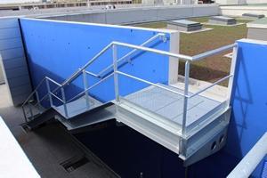 Escaliers métalliques technique