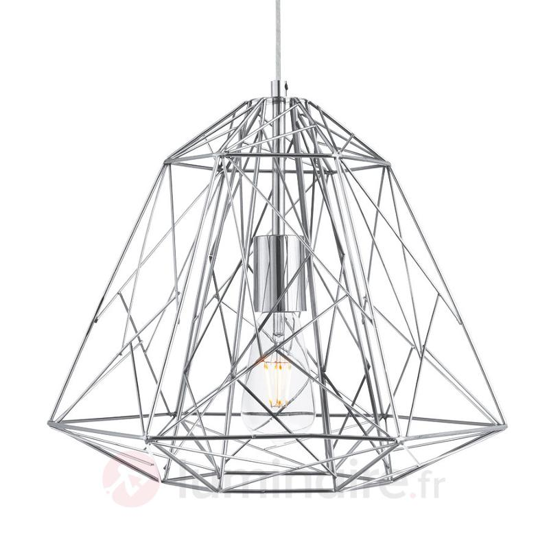 Suspension Geometric Cage futuriste - Cuisine et salle à manger