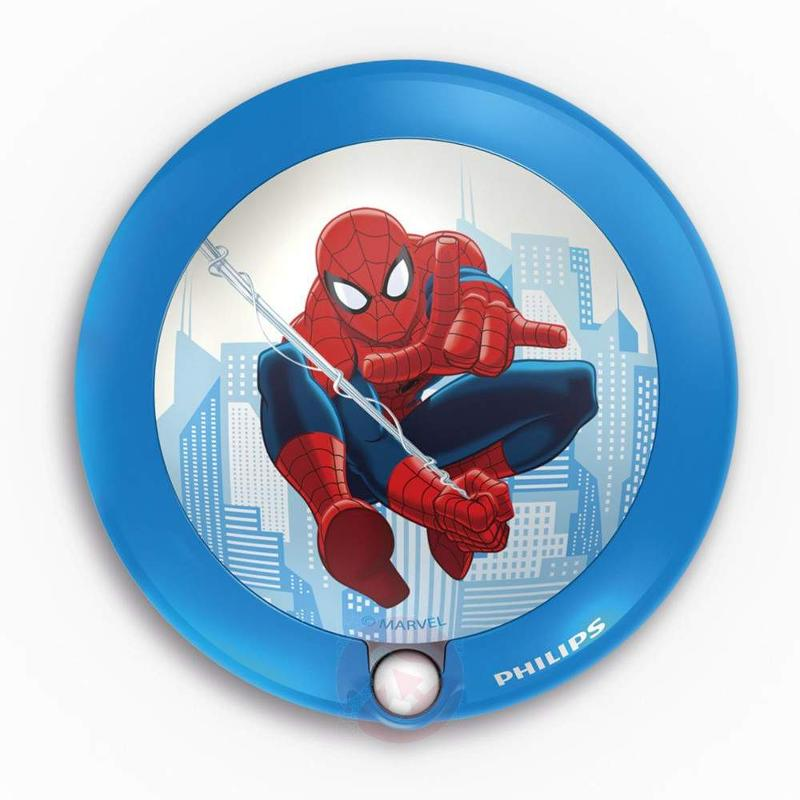 Round Spiderman LED night light - Wall Lights