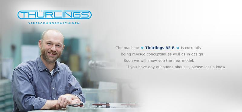 Bag opening and closing machine - Thürlings 85 B