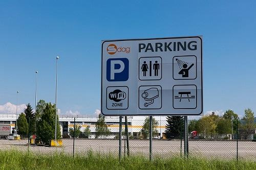 TRUCK PARKING AREA -