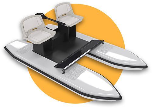 Watto - catamaran électrique