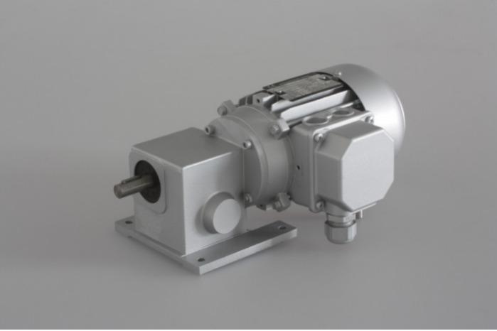 SN4 - Zweistufiger Getriebemotor mit Ausgangswelle