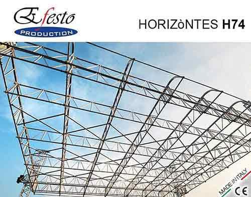 Horizòntes H74 roof systems