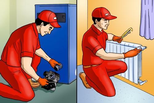 Καλοριφέρ - Καυστήρες - Συντήρηση και επισκευή καλοριφέρ και καυστήρων