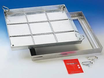 B steel galvanised sealed cover - sealed cover