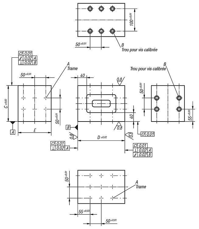 Console - Éléments de montage