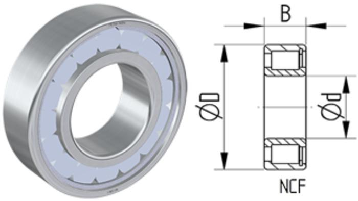 Vollrollige Zylinderrollenlager - null