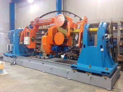 Maquinaria para la industria del cable -