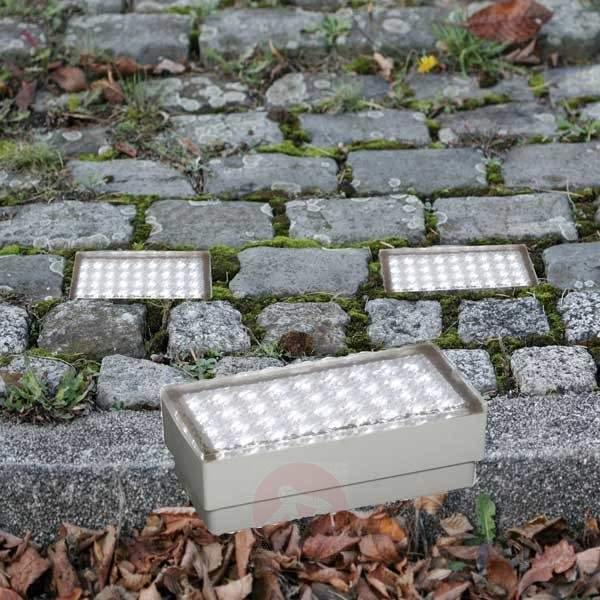 Step-on recessed floor light PIERRE - Recessed Floor Lights