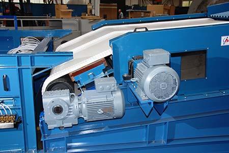 Séparateur Electropneumatique   - Système de démétallisation