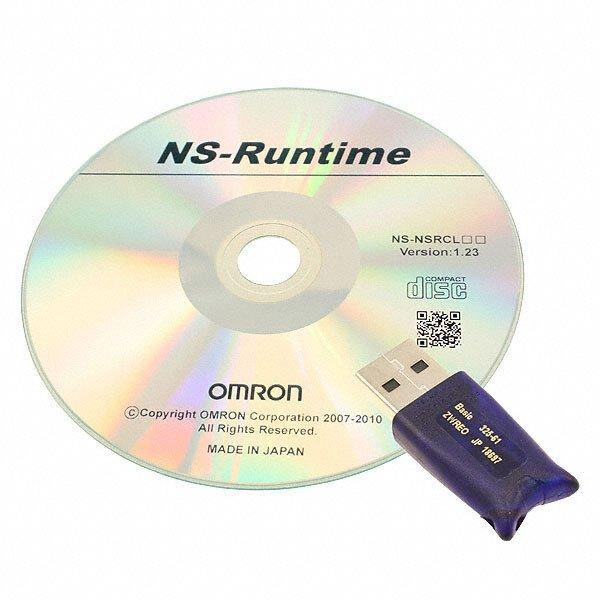 NS RUNTIME KIT W/ LICENSE - Omron Automation and Safety NS-NSRCL1