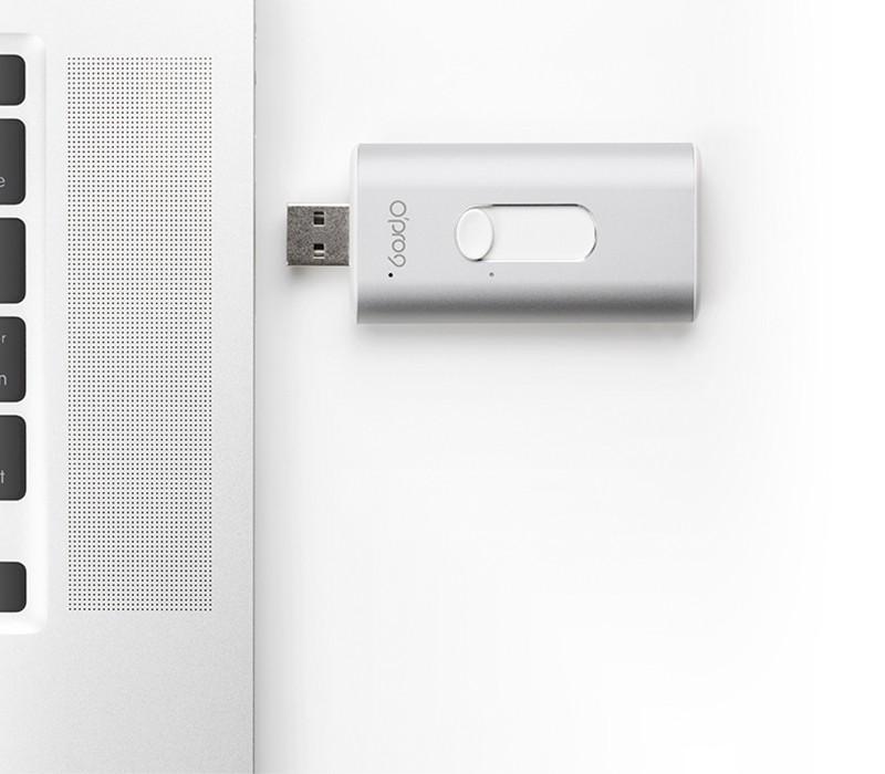 Clé USB/lightning iSafeFile - Sauvegarde et cryptage de données - Iphone & Ipad - Apple Mfi