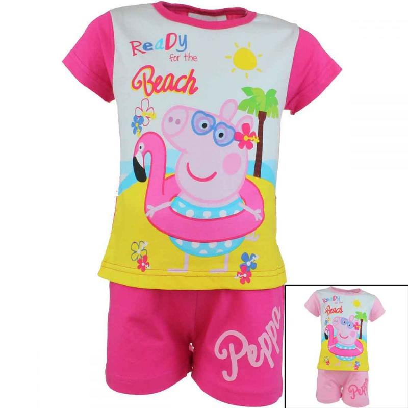 10x Ensembles 2 pieces Peppa Pig du 2 au 6 ans - Ensemble