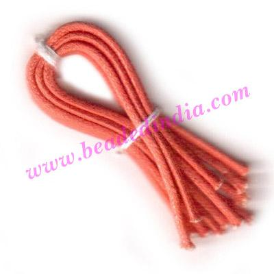 Cotton Wax Cords 1.0mm (one mm) Round - Cotton Wax Cords 1.0mm (one mm) Round