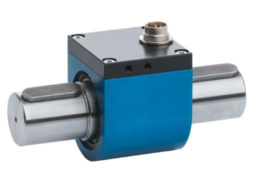 86403/86413/86423 系列扭矩传感器 - 小尺寸、高精度,可靠测量、可旋转,可承受正反向扭矩,可进行静态和动态测量,高品质滑环传输系统