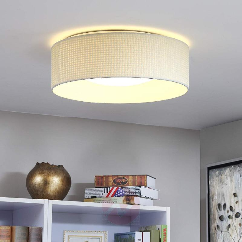 Cillian - pretty fabric ceiling light with LEDs - Ceiling Lights