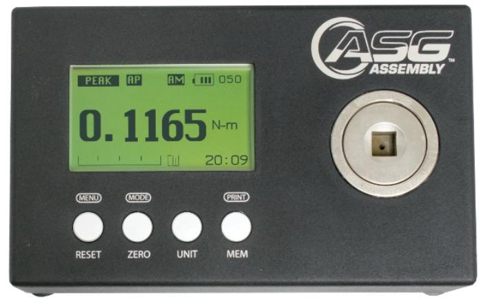 DTT - torque tester - For setting tools torque and check accuracy