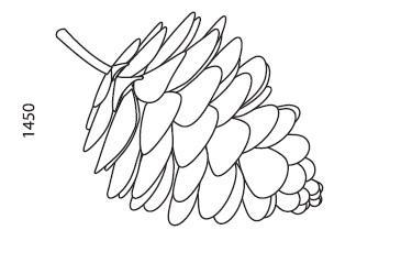 Sculpture «Pinecone» - Garden products