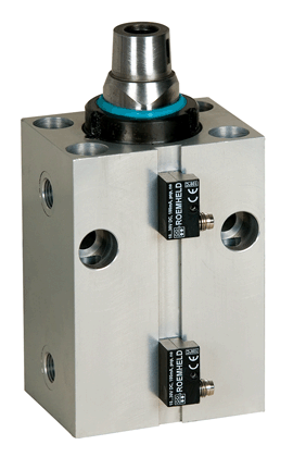 Block cylinder with anti-rotation piston - Article ID 1566165