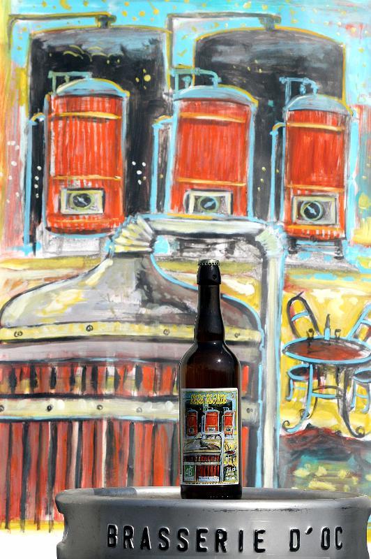 Bière blonde Bio 75CL - Boissons