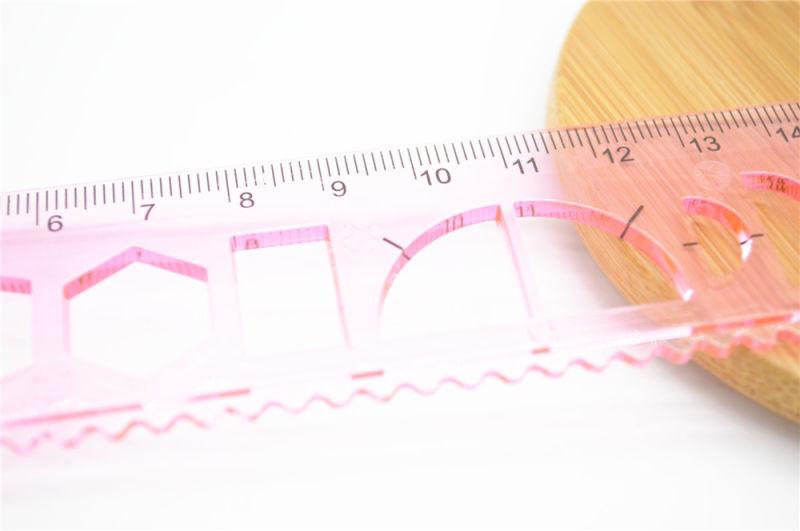 Ruler  - 20cm Drawing Shape Sorter Plastic Ruler