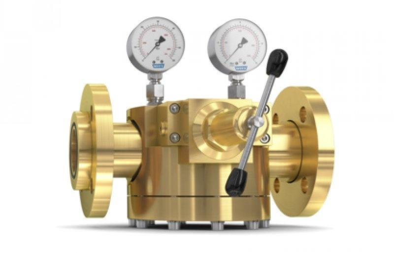 Dome Pressure Regulator 757LE/S, complete solution