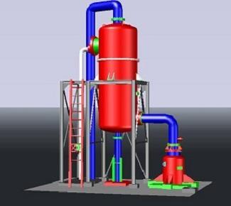 3D laser scanning of Filter phosphoric acid