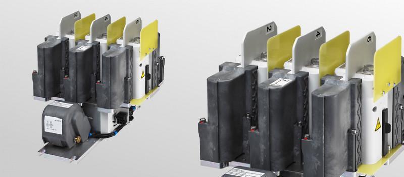 3 pole AC high-voltage contactors CA - AC traction contactors for permantent magnet traction motors