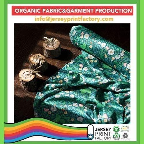 Custom digital printed organic cotton fabrics for kids wear - Custom digital printed organic cotton fabrics for kids wear baby wear interlock
