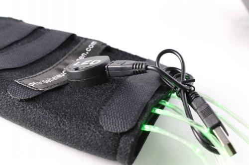 LED Flashing Horse Harness Tail Wrap with USB charger  - USB chargable tail  LED Flashing Horse Harness
