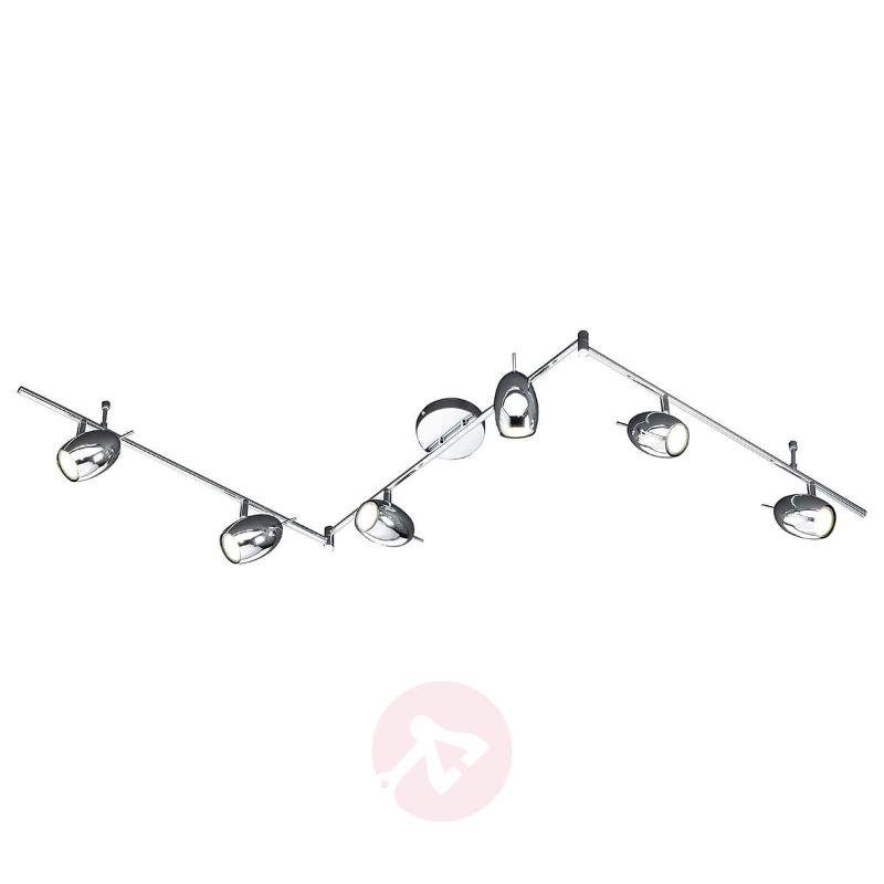 Superb Quincy LED ceiling light with 6 bulbs - Ceiling Lights