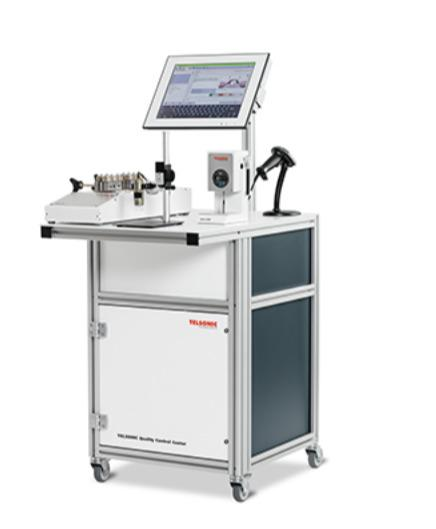TELSONIC Quality Control Center TQCC - Quality control integrated in the production process