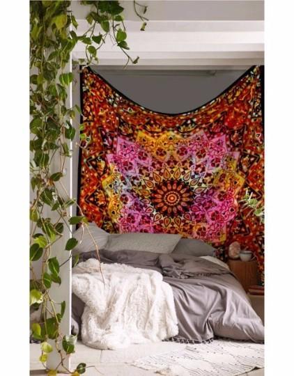 Beautiful Multi Color Mandala Handmade Wall Hanging Tapestry