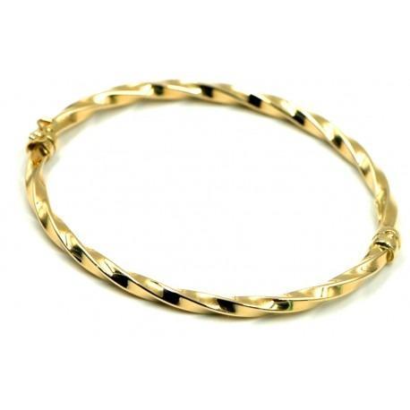 Pulsera Rizada Oro Amarillo 18KL - Una pulsera moderna a la vez que clásica de mucho estilo