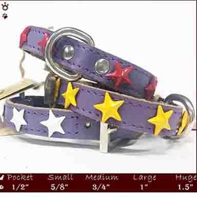 Dog Collars - Pure leather dog collars