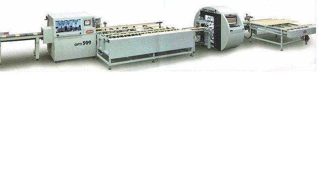 Tronçonneuse automatique d'optimisation pour le bois - Bottene tronçonneuse automatique