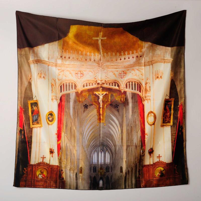 Écharpes personnalisables & écharpes publicitaires - foulard imprimé, reproduction d'artiste (souvenirs)