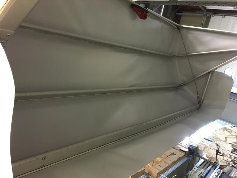 Store corbeille - Fabrication de bâches sur mesure