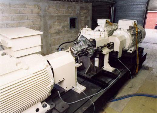 Bancs d'essais - Industrie : Banc de développement de boite automobile