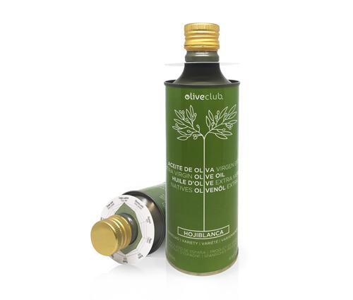 Aceite De Oliva Virgen Extra Oliveclub Hojiblanca Lata 500 M - Aceite de oliva primera prensa, extracción en frío