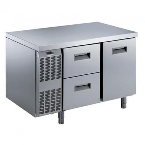 MEUBLES RÉFRIGÉRÉS ET SALADETTES - Table réfrigérée Benefit-Line 1 porte+2x1/2 tiroirs -15°C/-2