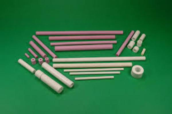 High Tec Ceramic, Rods, Guides, Eyelets, Tubes - Ceramic components for wire drawing process, Galvanic, Brushing,