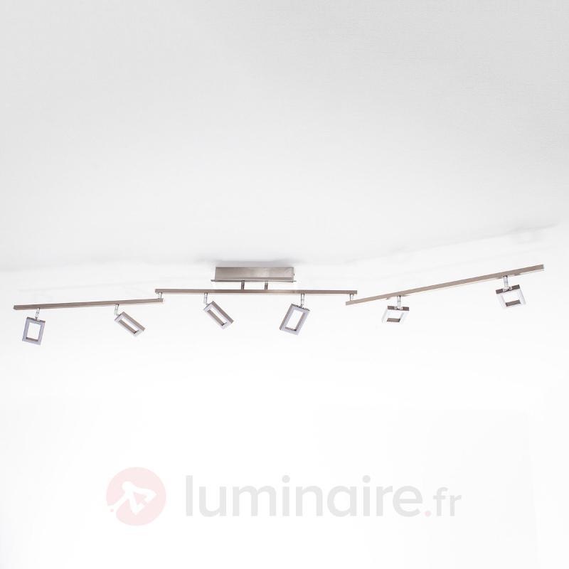 Plafonnier LED à six lampes Inigo - Plafonniers LED
