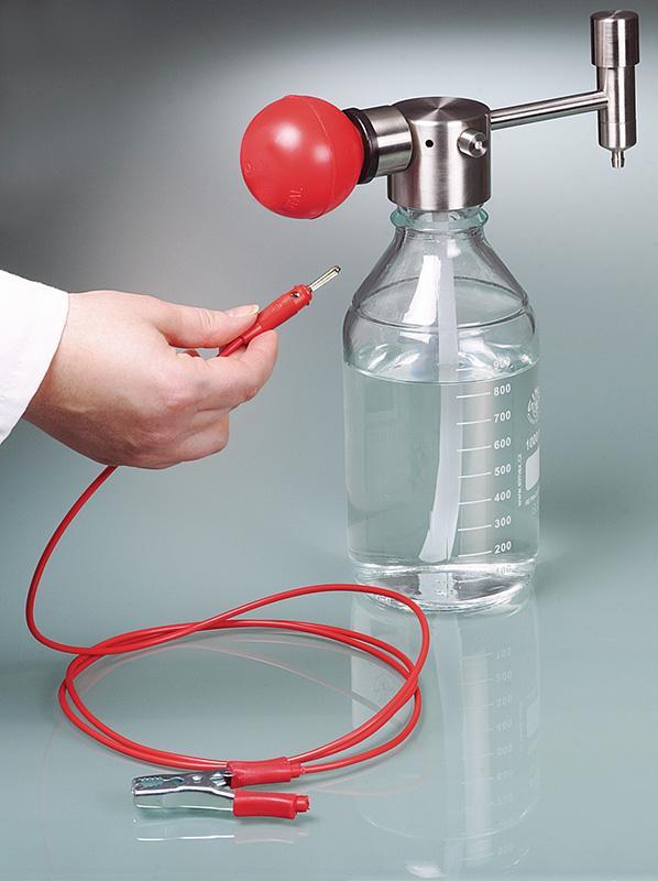 Bomba manual Mini para disolventes - trasiego seguro de pequeñas cantidades
