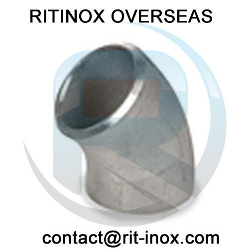 Inconel 625 45 Degree Elbow -