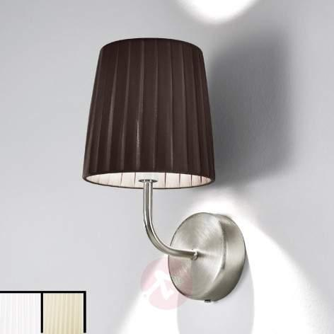 Dorotea Designer Wall Light Exquisite Beige - design-hotel-lighting