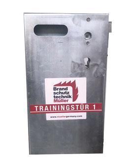 Modul 1 - Aufsatzmodul Zerstörendes Öffnen - Trainingstüren